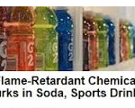 flame retardant chemical in gatorade and sports drinks